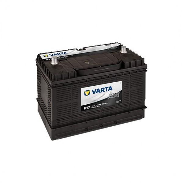 VARTA 105AH H17 12V BLACK PROMOTIVE AKÜ