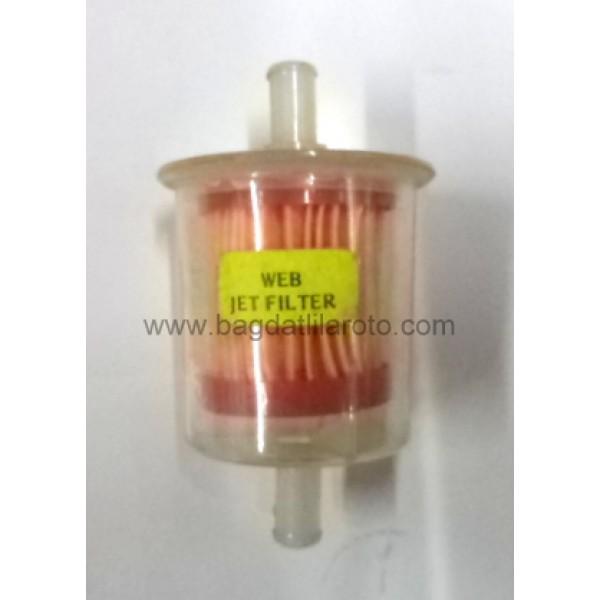 Benzin filtresi universal tip İTHAL