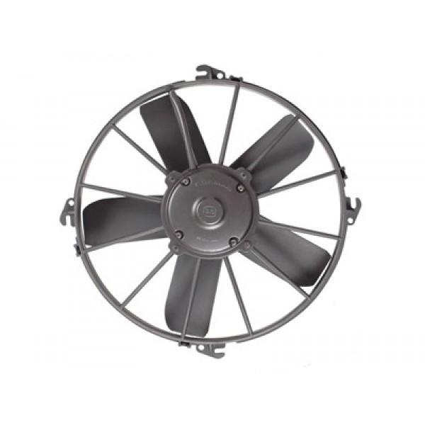"Fan motoru 12V 11"" yassı geniş emici aksiyel ( 5 kanat ) 743 150 27 KORMAS"