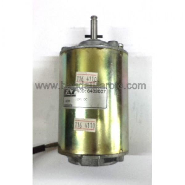 Klima fan motoru 24V Safkar Bosch tipi 6403007 FAZ