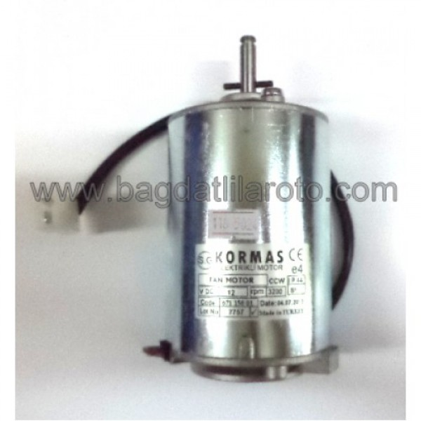 Klima fan motoru 12V uzun 671 150 01 KORMAS
