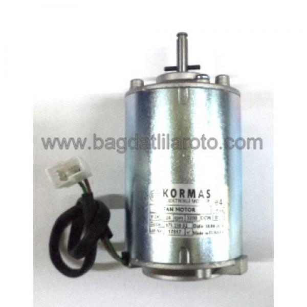 Klima fan motoru 24V uzun 671 150 02 KORMAS