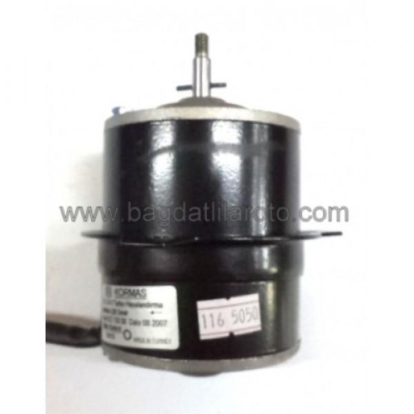 Turbo havalandırma fan motoru 24V çift devir vidalı Otoyol tipi 622 130 08 KORMAS
