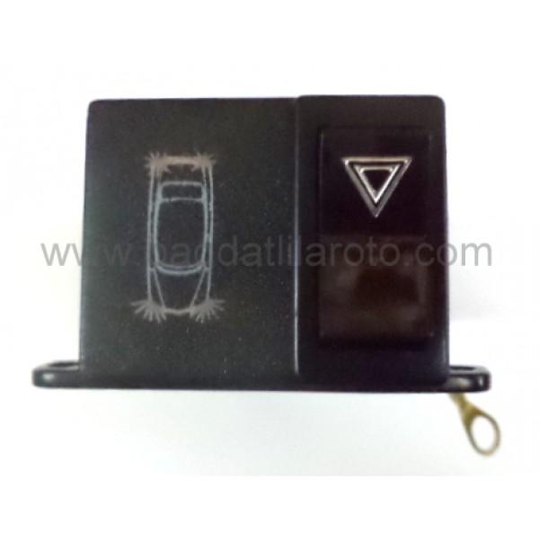 Dörtlü flaşör anahtarı komple set 12V 2000-12 NAGARES