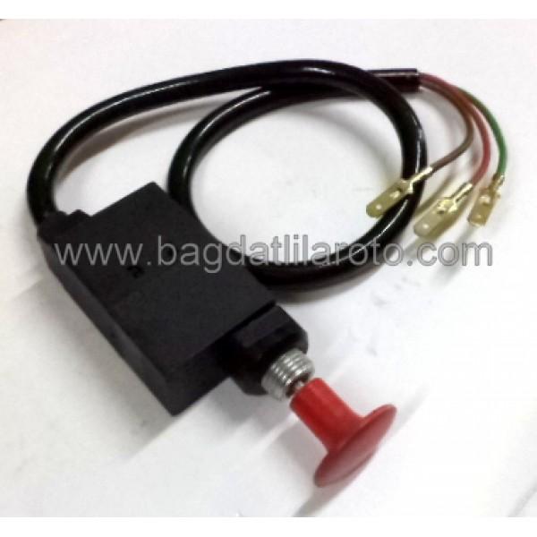 Takviye anahtarı kablolu tek çekme 3 uçlu BMC Fatih 04-005 AKSA